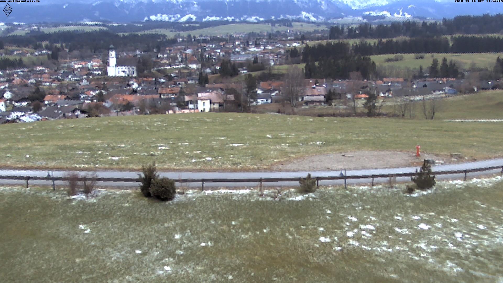 Webcam-Panorama von der Golfanlage 'Auf der Gsteig'